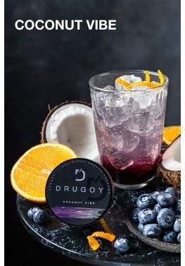 Табак Drugoy - Coconut Vibe (Кокос, черника, апельсин) 100 грамм