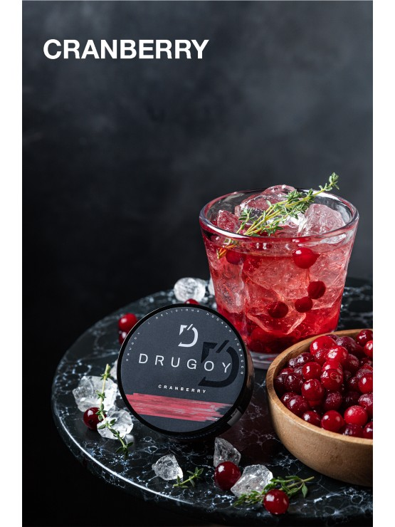 Табак Drugoy - Cranberry (Клюква) 25 грамм