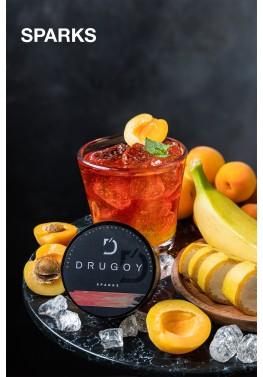 Табак Drugoy - Sparks (Гуарана, банан, абрикос) 25 грамм