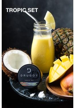 Табак Drugoy - Tropic Set (Ананас, манго, кокос) 25 грамм